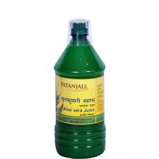 Picture of Baba Ramdev Patanjali Aloe Vera Juice With Fiber 1 ltr