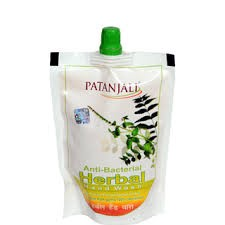 Picture of Baba Ramdev Patanjali Anti Bacterial Herbal Hand Wash Refill 200 ml