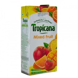 Picture of Tropicana Mix Fruit Soft Drink Juice 1Lt
