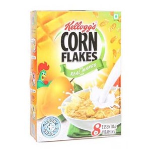 Picture of Kellogg's Corn Flakes Real Mango 300gm