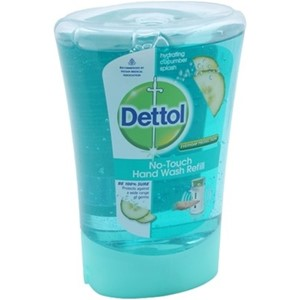Picture of Dettol No Touch Hand Wash Refill Cucumber 250Ml