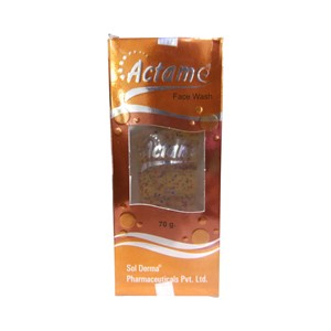 Picture of ACTAME FACE WASH 70 GM
