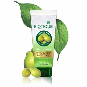 Picture of BIOTIQUE BIO PAPAYA EXFOLIATING FACE WASH 300 ML