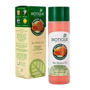 Picture of Biotique Honey Facial Cleansing Gel 120ml