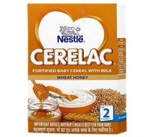 Picture of Nestle Cerelac Baby Cereal With Milk Wheat And Honey Stage 2 -300gm