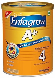 Picture of Enfagrow A+ Stage 4 Nutritional Milk Powder Chocolate - 400 grams