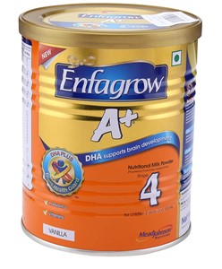 Picture of Enfagrow A+ Stage 4 Nutritional Milk Powder Vanilla - 400 grams