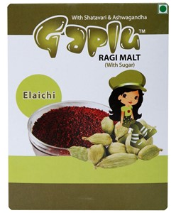 Picture of Gaplu Ragi Malt Elachi Flavour - 200gm