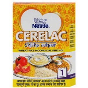 Picture of Nestle Cerelac Shishu Aahaar Wheat Rice Moong Dal Khichdi Stage 1 - 300 gm