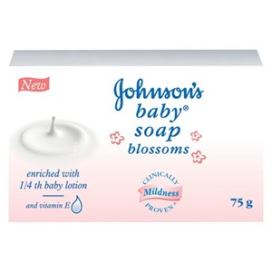 Picture of Johnson Baby Soap Blossoms 75gm