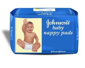 Picture of Johnson Baby Nappy Pads 10pads