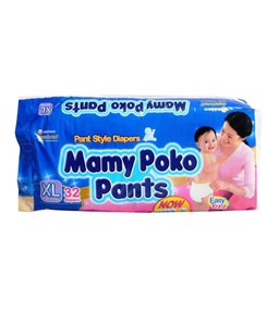Picture of Mamy Poko Pants Extra Absorb XL - 12-17 Kg 32pc
