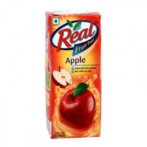 Picture of Real Fruit Juice - Apple 200 ml Carton