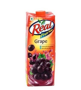 Picture of Real Fruit Juice - Grape 1 ltr Carton