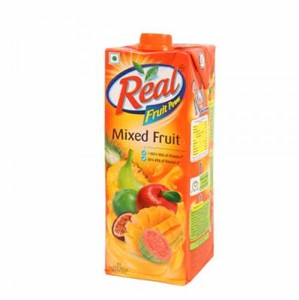 Picture of Real Fruit Juice - Orange 1 ltr Carton