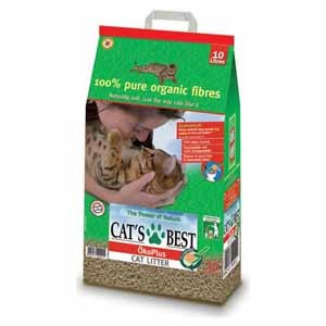 Picture of Cats Best Organic Cat Litter 10L