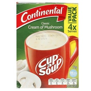 Picture of Cup A Soup - Classic Cream of Chicken - Continental - 75.00 gm