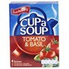 Picture of Cup A Soup With Tomato & Basil - Batchelors - 104.00 gm