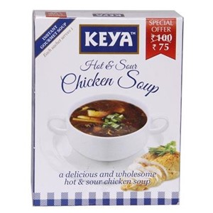 Picture of Instant Soup - Hot & Sour Chicken - Keya - 66.00 gm