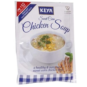 Picture of Instant Soup - Sweet Corn Chicken - Keya - 52.00 gm