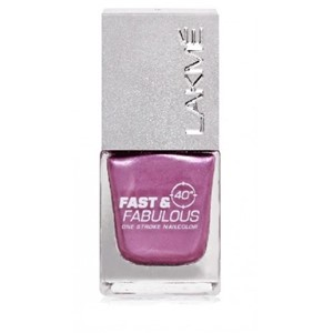 Picture of Lakme One Stroke Nail Colour 11 Purple Potion 10 ml