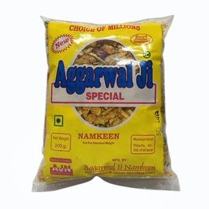 Picture of Aggarwal Namkeen - Cornflakes Mixture, 200 gm