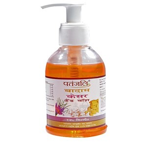 Picture of Patanjali Almond Kesar Hand Wash 175 Ml