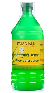 Picture of Patanjali Aloe Vera Juice (Plain) 1 Ltr