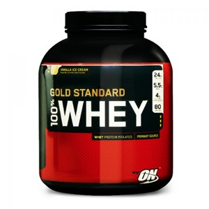Picture of 100% Gold Standard Whey Protein 5lbs
